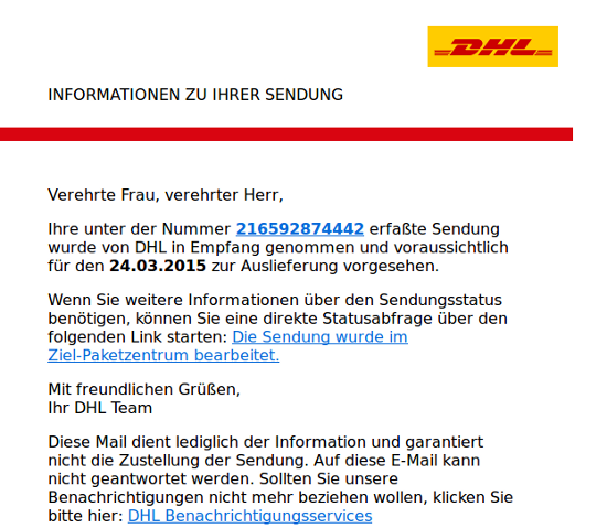 DHL small